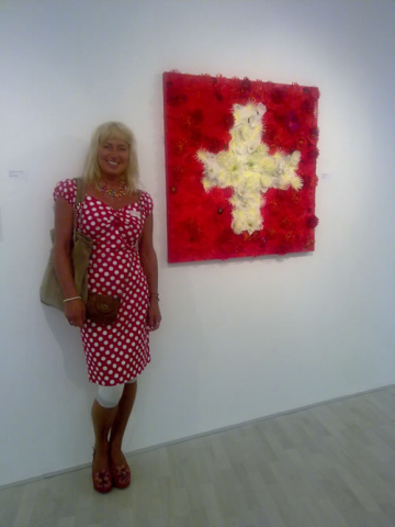 Red and White exhibition at Suisse Art Space, Lausanne