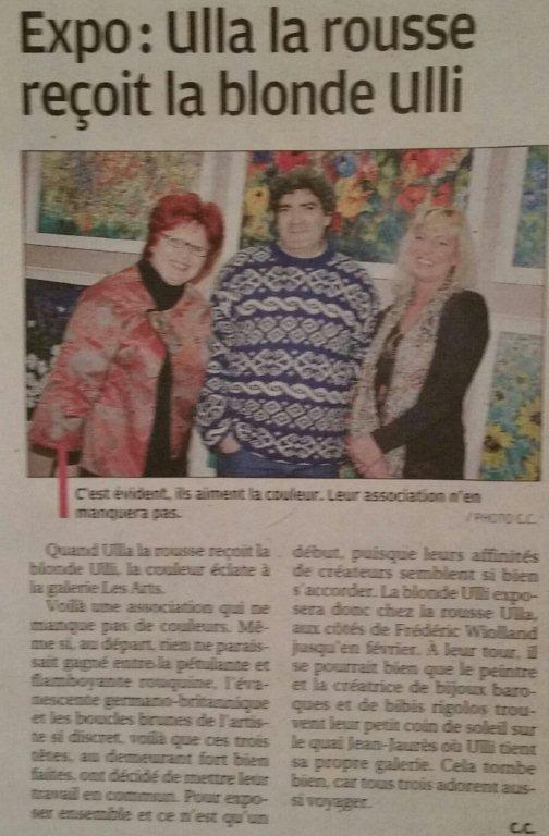 Article dans le journal La Provence